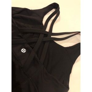 Lululemon 🍋 black tank top